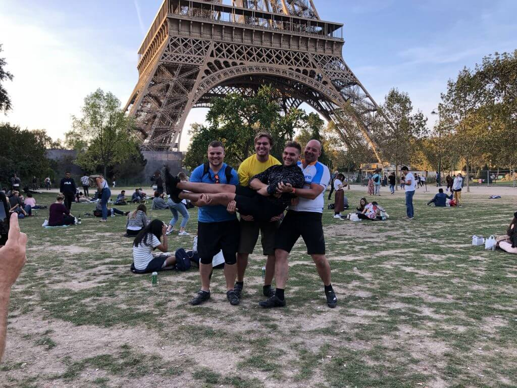 London to Paris cycle 2018