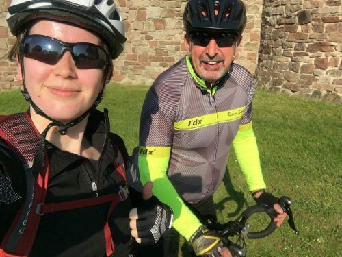 Holly is cycling from London to Paris