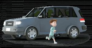 Dayinsure boy and car