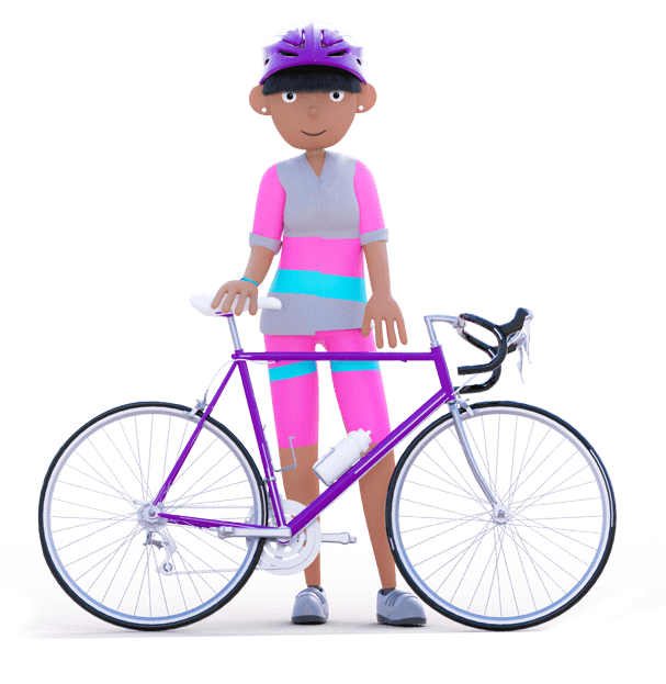 Dayinsure Mum with push bike