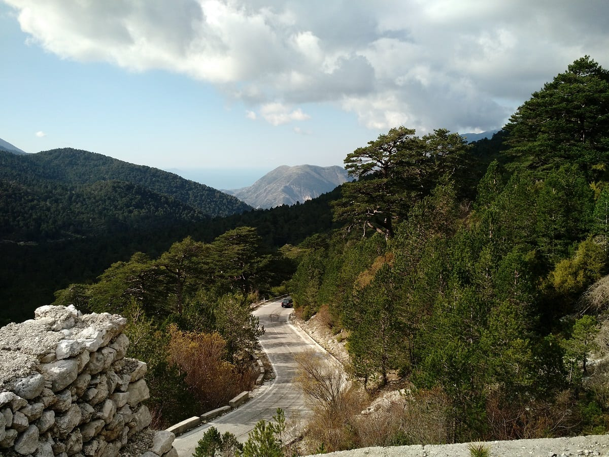 Road in Albania