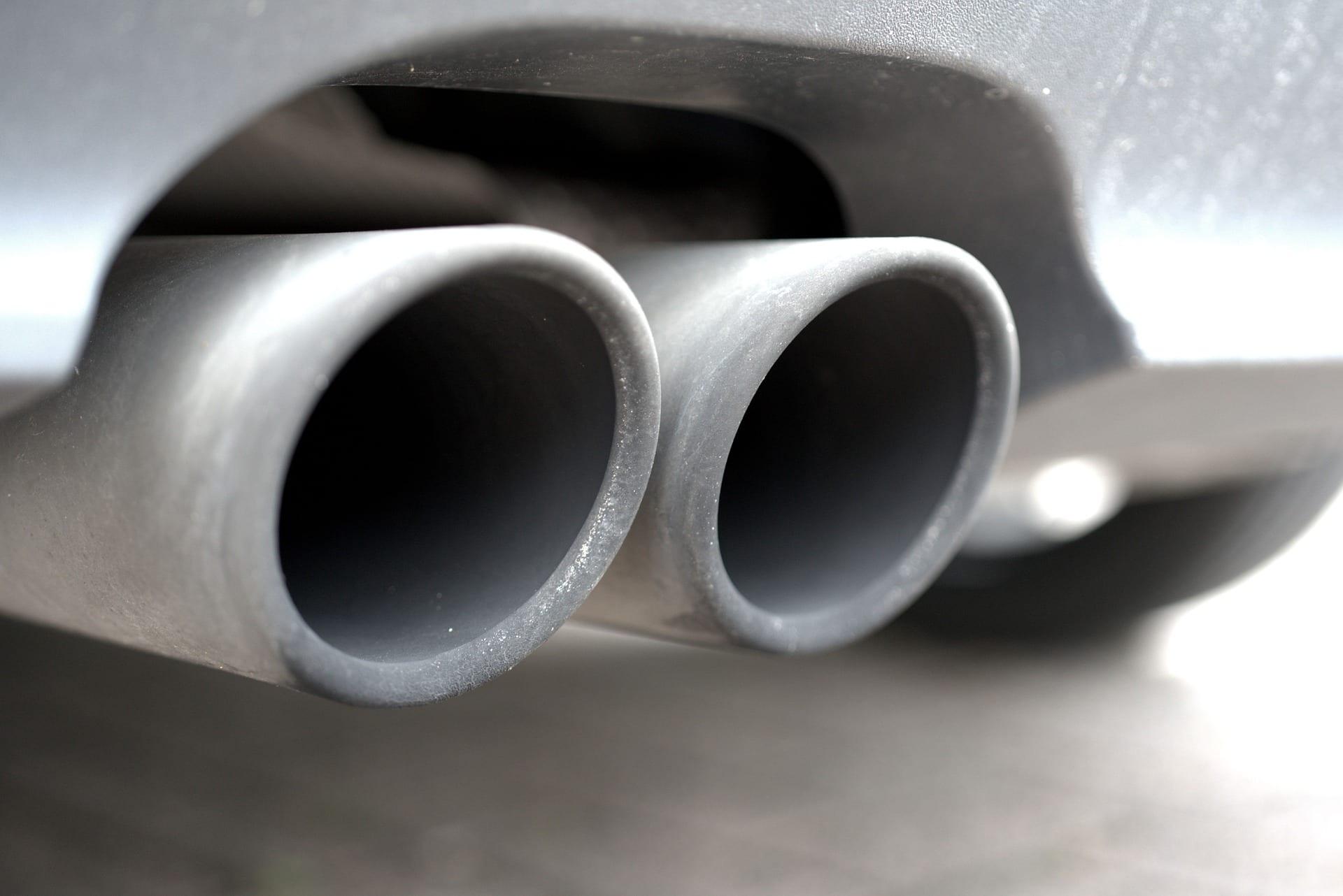 Potholes can damage car exhausts