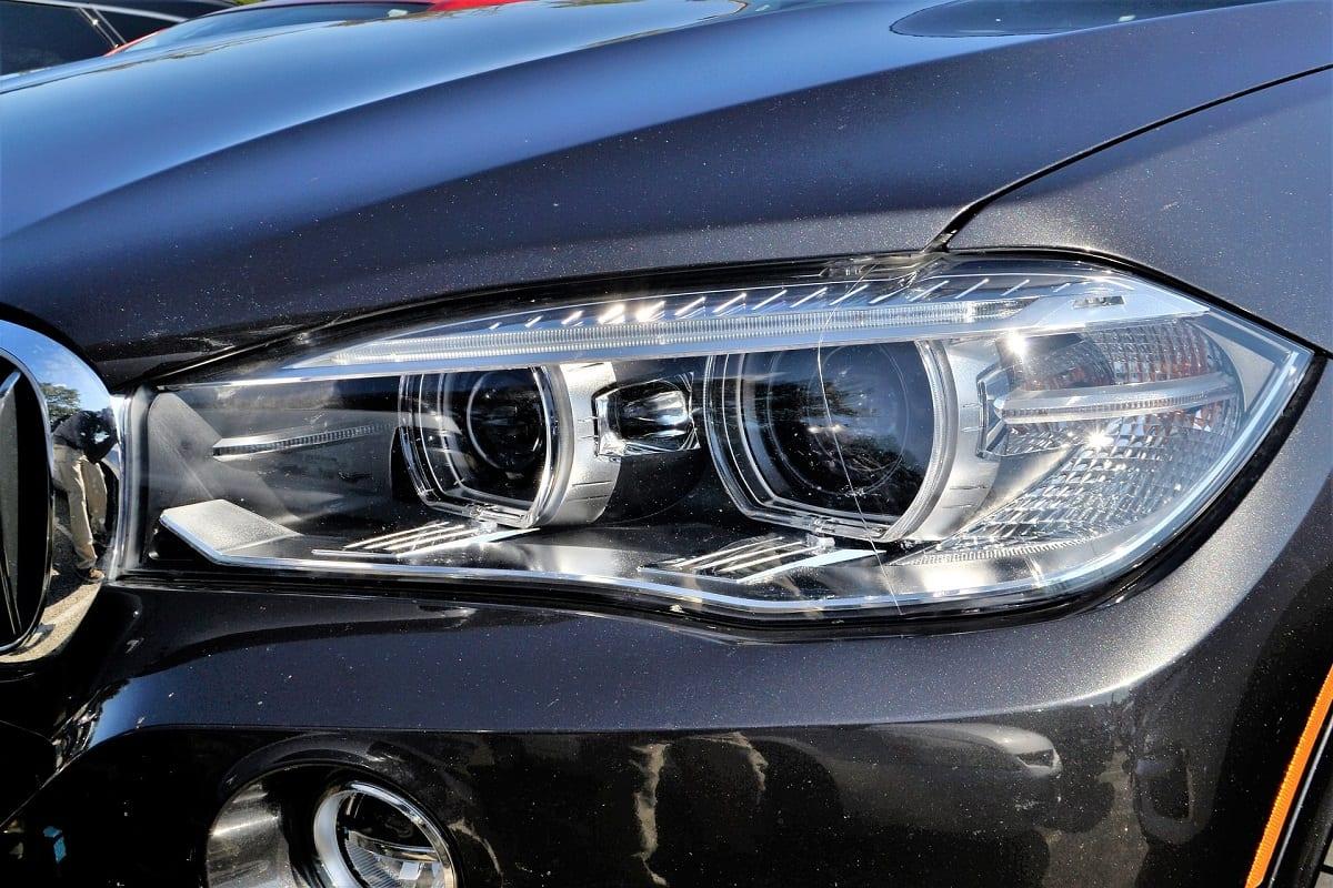 Used car headlight