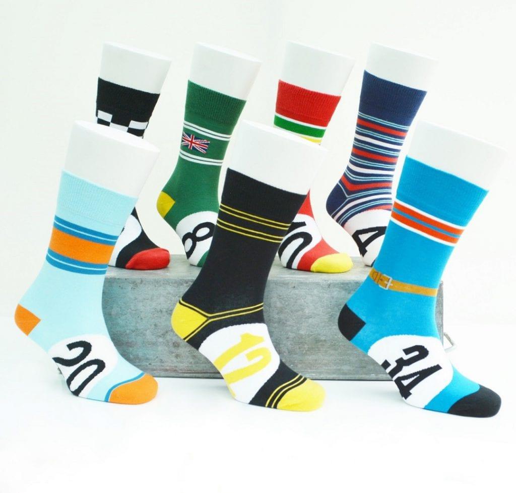 motoring legend socks