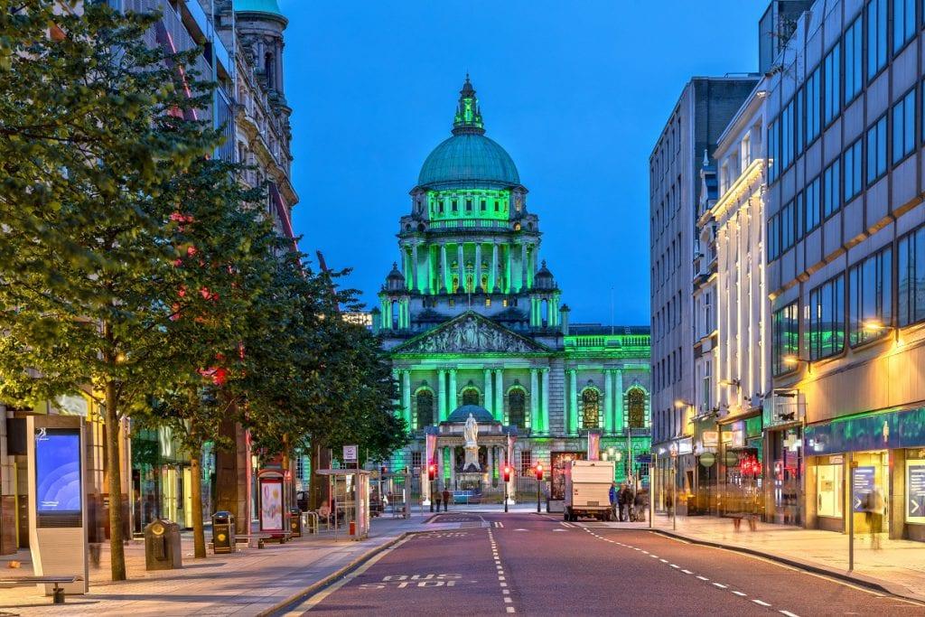Belfast road