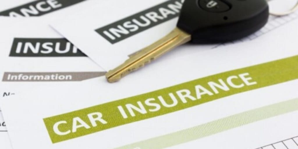 Car insurance and car key