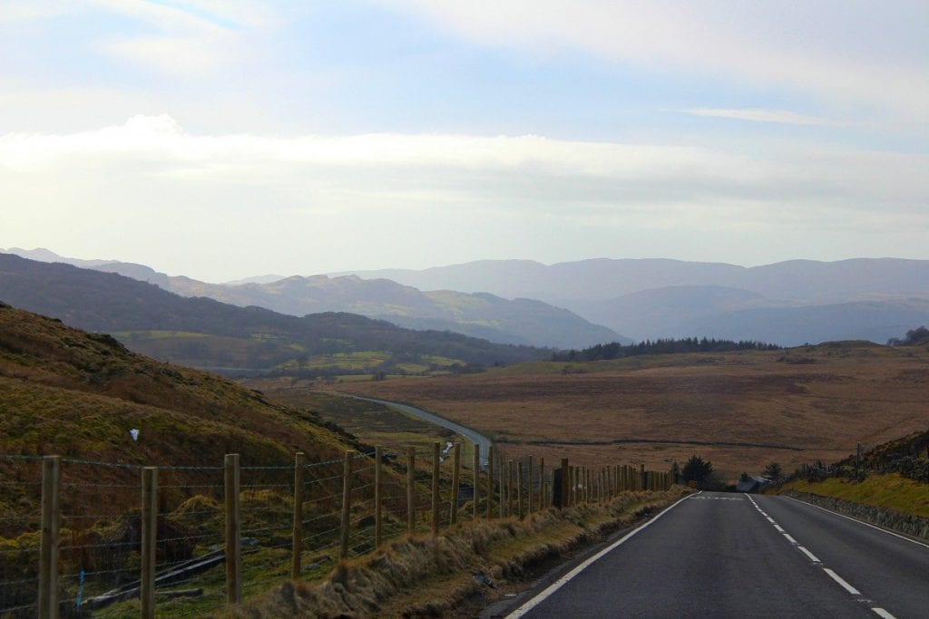 Wales road