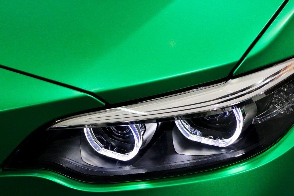 New car headlight