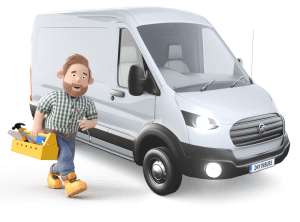 Dayinsure Dad with Work Van