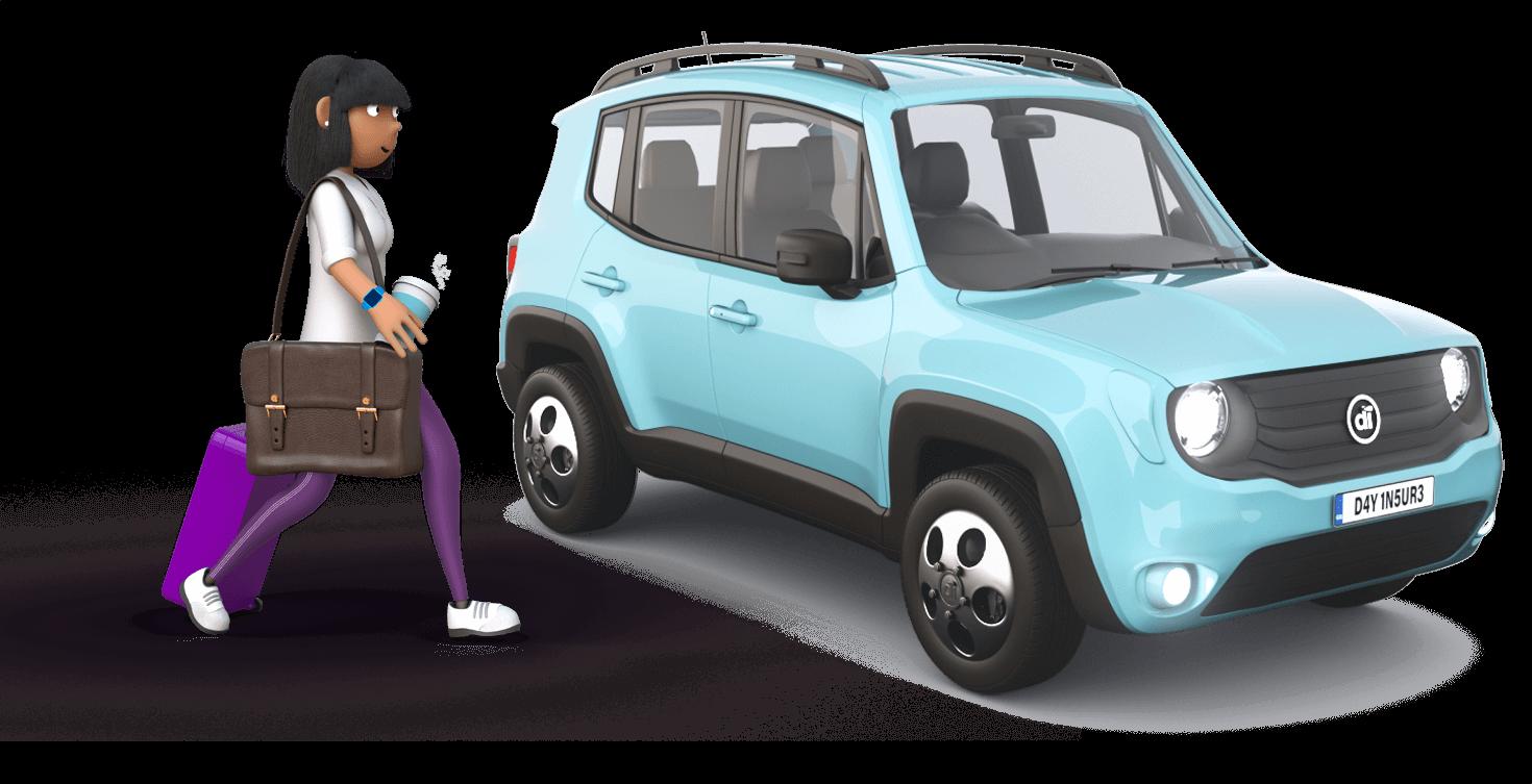Dayinsure Mum with SUV